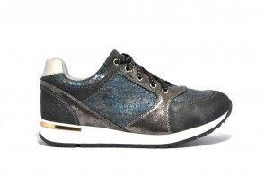 Elegante Sneaker Zilver