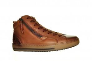 Gabor Cognac Hoge Sneakers
