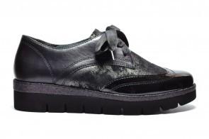 Gabor Schoenen Zwart Gekleed