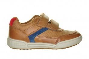 Geox Cognac Kinderschoenen Velcro