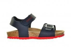 Geox Sandalen Blauw Rode Zolen