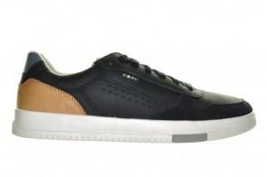 Geox Sneaker Blauw Cognac