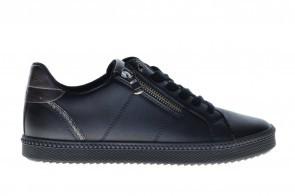 Geox Zwart Sneaker Rits