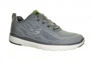 Grijze Comfort Sneaker Veter Skechers