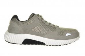 Grijze Comfort Sneaker Veter Van Skechers