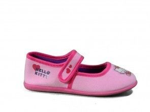 Hello Kitty Pantoffel Roze