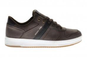 Heren Casual Sneaker Donkerbruin