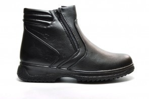 Herenbottines Zwart Winter