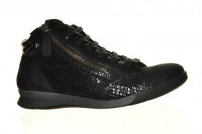 Hoge Sneaker Leder Croco