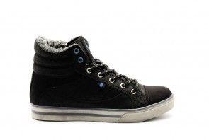 Hoge Sneaker Wol Jongens