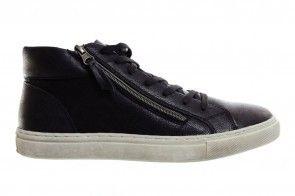 Hoge Sneakers Zwart Heren