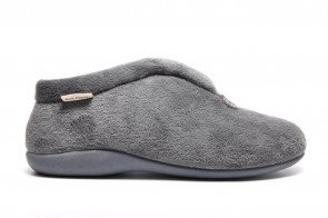 Hush Puppies Grijze Pantoffel