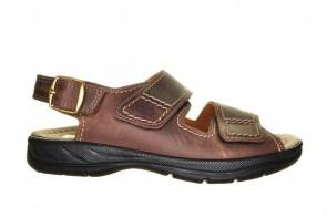 Jomos Open Bruine Sandaal 2 Velcro