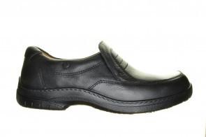 Jomos Zwarte Mocassin Leder