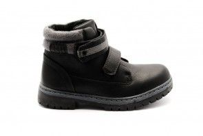 Jongens Schoolschoenen Zwart Velcro