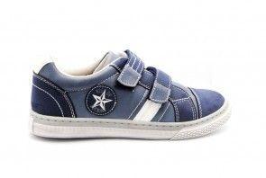 Kinderdschoenen Blauw Velcro