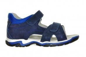 Kindersandalen Leder Blauw