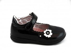 Kinderschoenen Baby Zwart Lak