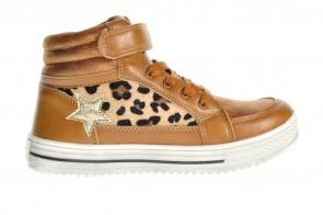 Kinderschoenen Leopard Velcro