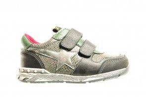 Kinderschoenen Velcro Zwart Groen