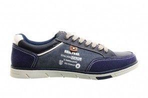 Koningsblauw Sneakers Heren