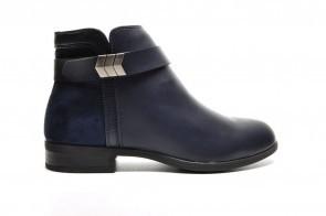 Korte Laarzen Blauw Goedkoop