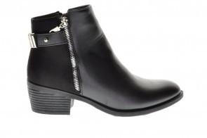 Korte Laarzen Zwart Goedkoop