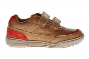 Lage Cognac Sneakers Kids Geox