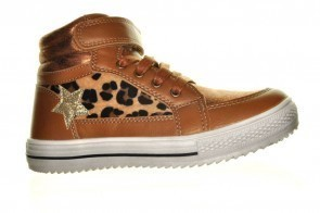 Meisjes Sneakers Hoog Leopard