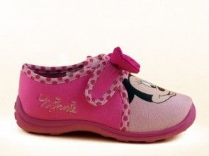Minnie Mouse Kinderpantoffel