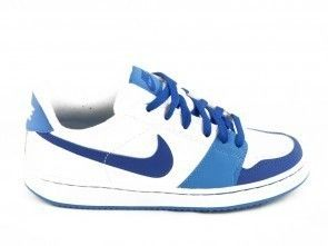 Nike Backboard Wit Royaal Blauw