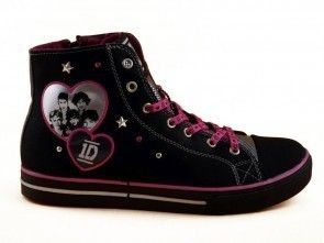 One Direction Sneaker Zwart