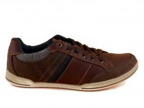 Patrich Casual Sneaker Bruin