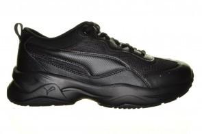 Puma Zwarte Comfort Sneaker  Met Veters