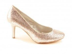 Pump Goud Glitter Dames