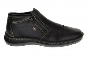 Rieker Comfort Bottines Zwart Met Wol