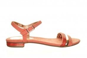 Roze Goedkope Platte Sandalen