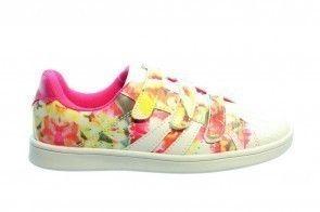 Roze Sneaker Bloemen