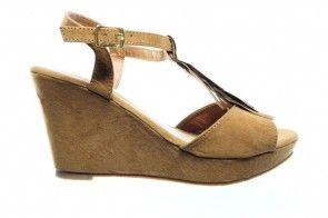Sandalen Camel High Heels