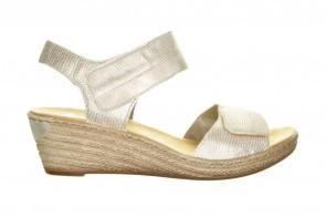 Sandalen Rieker Goud Velcro