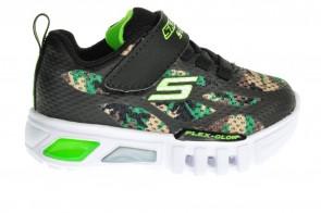 Skechers Camouflage Lichtjesschoenen