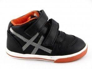 Sneaker Baby Zwart Grijs One Step
