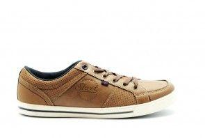 Sneaker Cognac Heren