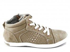 Sneaker Dames Stud Beige Bm