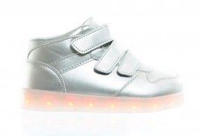 Sneaker Met Lichtjes Zilver
