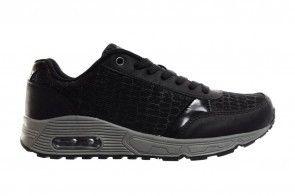 Sneaker Zwart Dames Snake