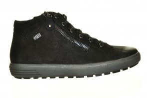 Sneaker Zwart Leder Hoog Remonte