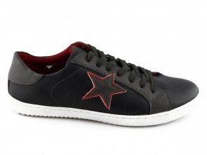 Sneaker Zwart Ster Coolman