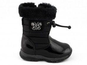Sneeuwbotten Kinderen Meisjes Zwart Easy Step