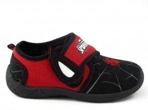 Spiderman Pantoffel Zwart Rood